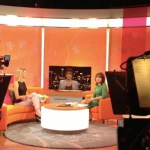 Victoria Fox and Jacke Collins on Lorraine