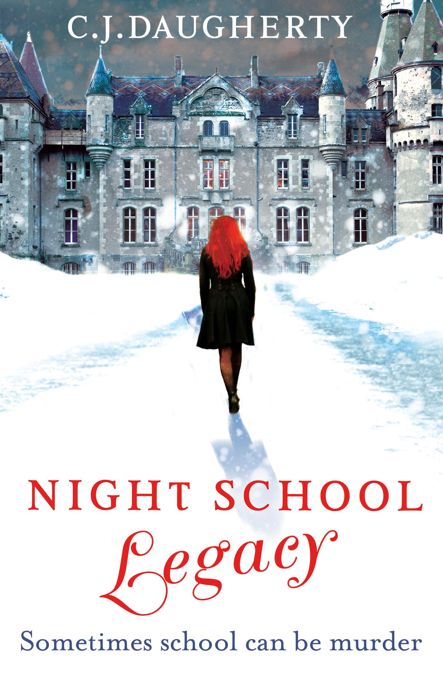 Uk Cover Of Night School: Legacy