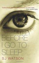 Before I go to Sleep by S.J. Watson
