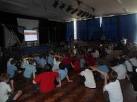 L.A. Jones visiting Waverton and Saighton primary schools