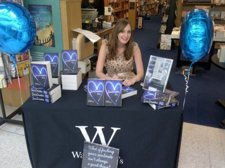 Holly Bourne's book signing