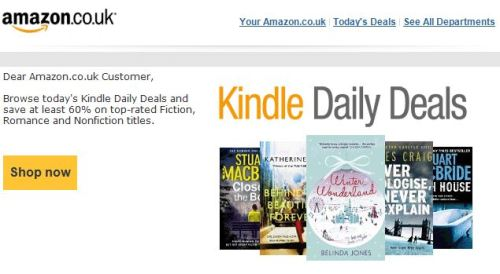 Winter Wonderland Kindle daily deal