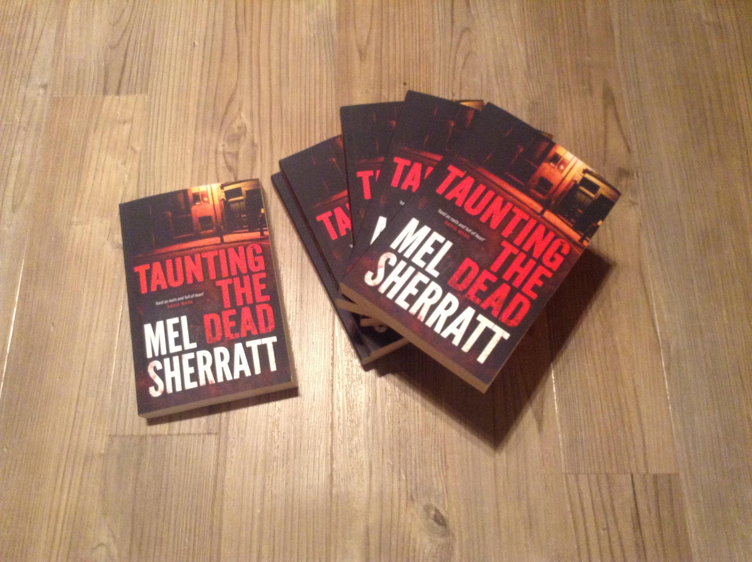 Taunting The Dead By Mel Sherratt